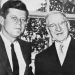 De Valera with U.S. President John Kennedy, 1963