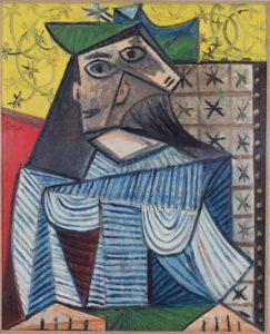 Bust of Woman (Portrait of Dora Maar), 1941