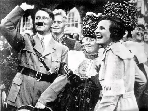 Riefenstahl and Adolf Hitler