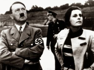 Riefenstahl and Adolf Hitler