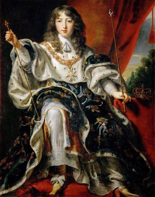Louis XIV in 1654