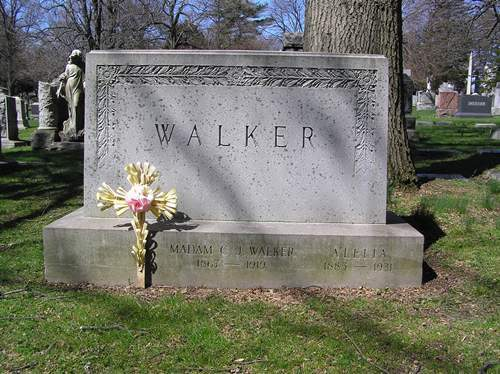 Grave of Madam Walker