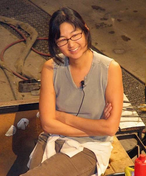 Maya Lin - sculptor and expert in landscape design