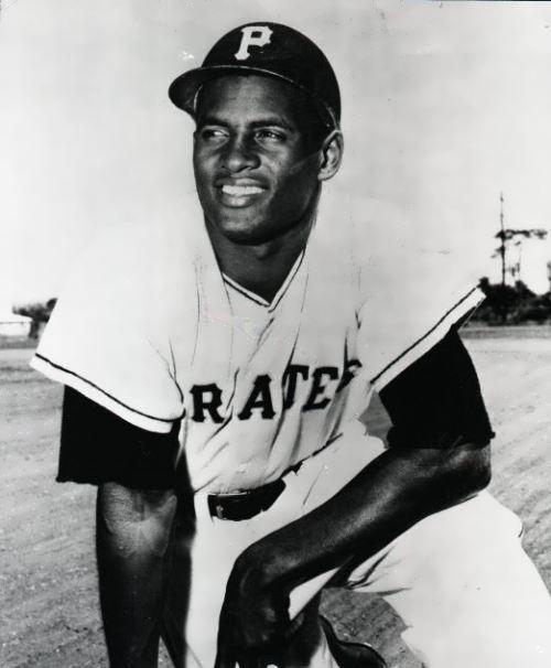 Clemente - first great Hispanic star in major league baseball