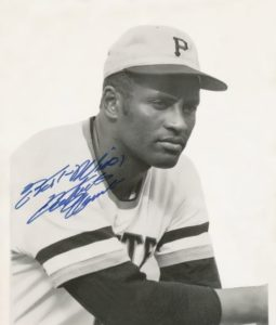 Clemente - first great Hispanic star in major league baseball