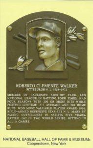 Hall of Fame baseball player