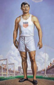 Portrait of Thorpe