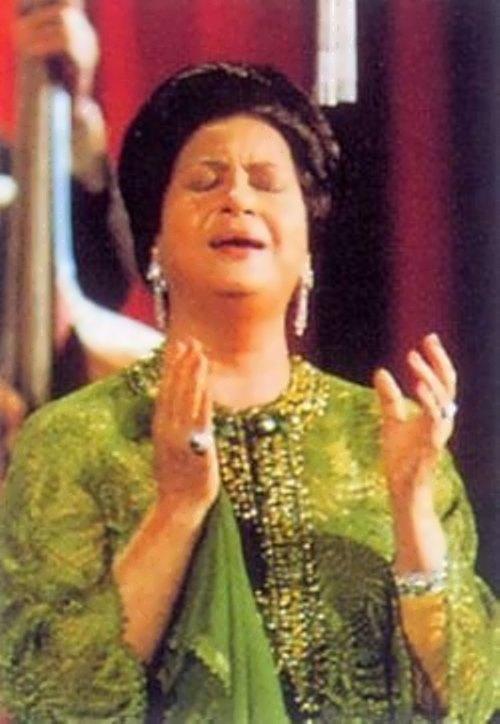 Kulthum - outstanding performer