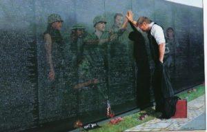 Vietnam Veterans Memorial in Washington