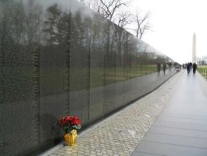 Vietnam Veterans Memorial in Washington