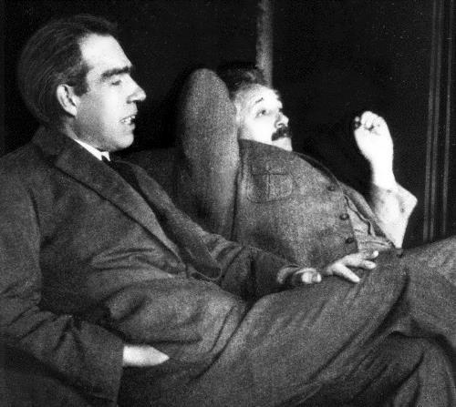Bohr and Einstein