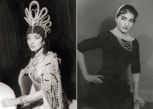 Callas - one of the greatest opera singers of the twentieth century