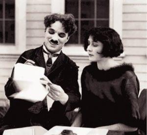 Chaplin and Lita Grey