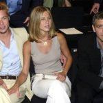 Brad Pitt, Jennifer Aniston and George Clooney