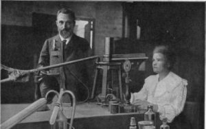 Maria and Pierre Curie