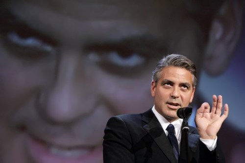 Clooney – handsome actor