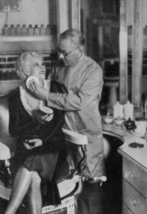 Max Factor and Jean Harlow, 1930