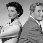 Hepburn and Spencer Tracy