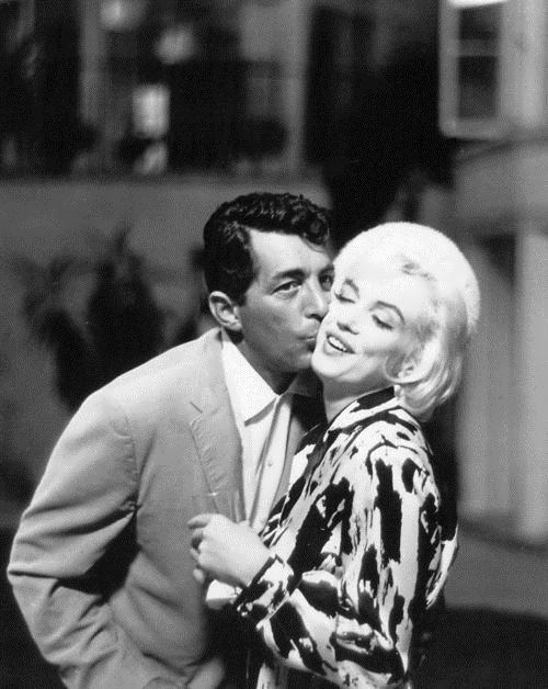 Monroe and Dean Martin. Dated in 1941