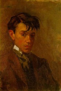 Self-portrait, 1896
