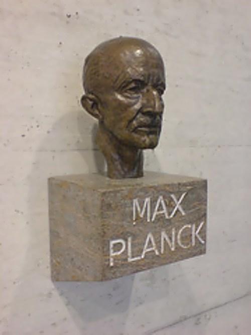 Bust of Planck