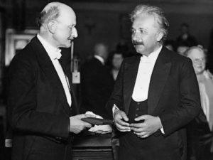 Planck and Albert Einstein