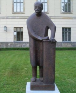 Statue of Planck at Berlin University