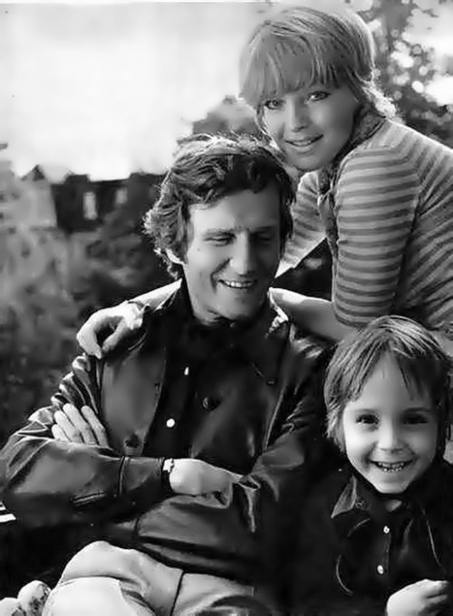 Romy, her husband and their son