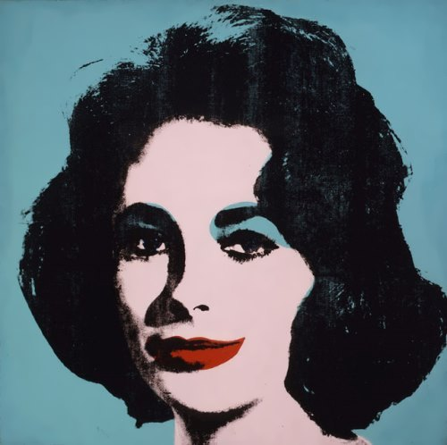 Liz Taylor by Andy Warhol