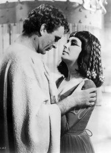 Elizabeth and Richard Burton