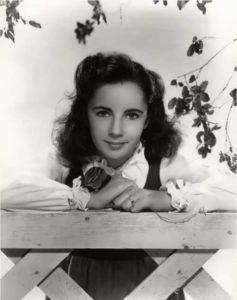 Elizabeth in her childhood