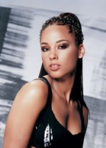 Alicia Keys - musical prodigy