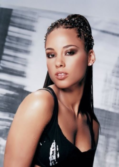 Alicia Keys - musical prodigy