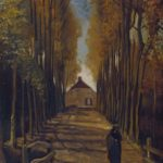 Avenue of Poplars at Sunset, 1884