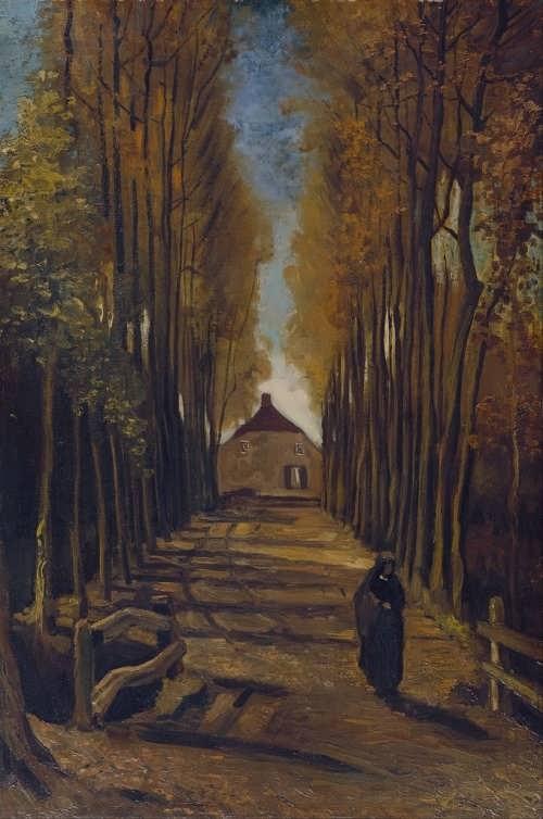Avenue of Poplars at Sunset, 1884