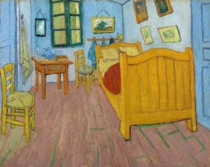 Vincent's Bedroom in Arles, 1888