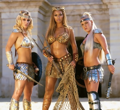 Britney Spears, Beyonce and Pink