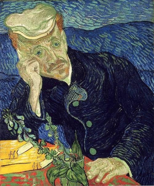 Portrait of Dr Gachet, 1890