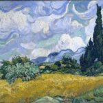 Wheat Field with Cypresses at the Haude Galline near Eygalieres, 1889
