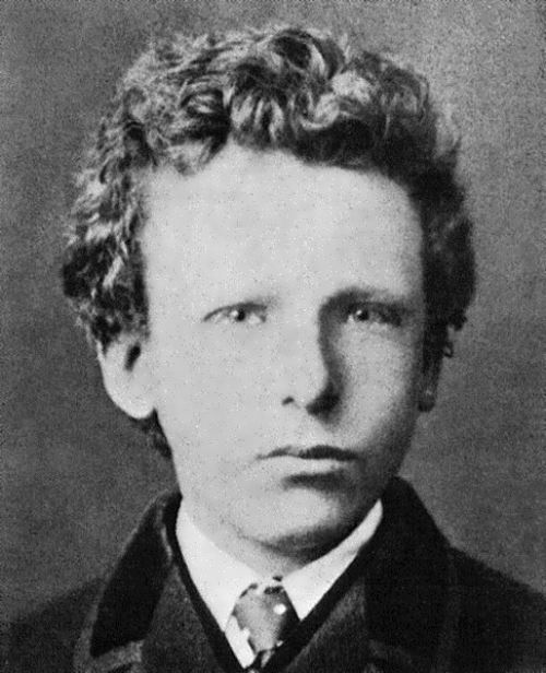 Van Gogh in 1866, at the age of 13