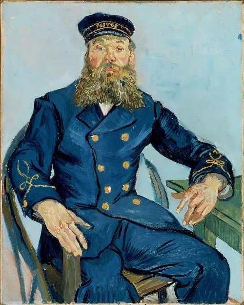 Portrait of Joseph Roulin, 1888