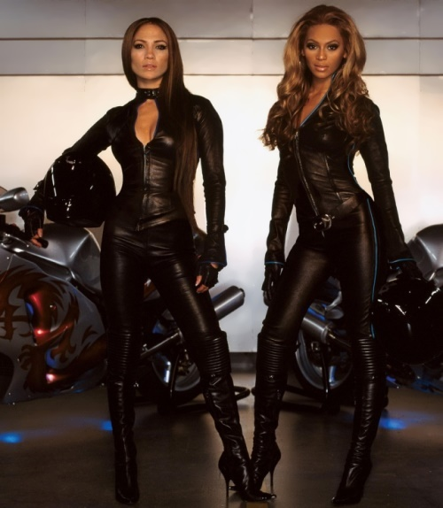 Jennifer Lopez and Beyonce