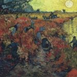The Red Vineyards in Arles, 1888