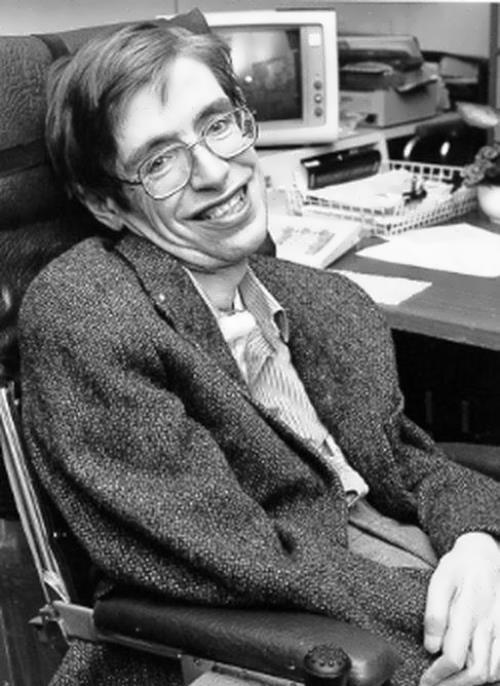 Stephen Hawking – English physicist