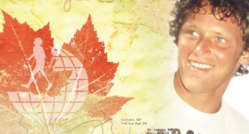 Terry Fox - a guy who ran to meet life