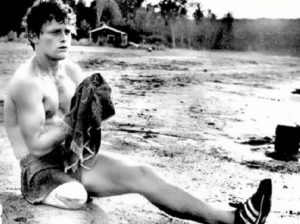 Terry Fox – one-legged runner