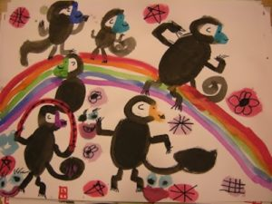 Amazing monkeys by Yani