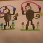 Wonderful monkeys by Wang