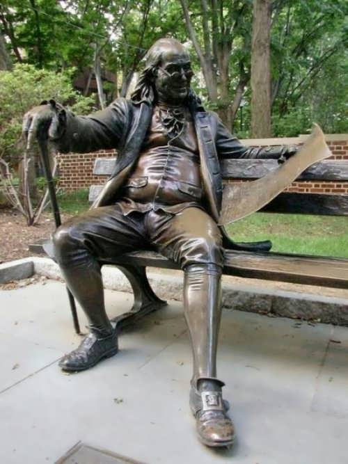 Monument to Benjamin Franklin