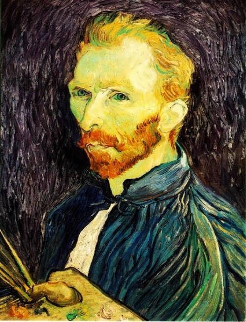 Self-Portrait with palette, 1889